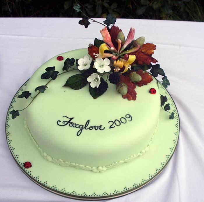 Foxglove cake