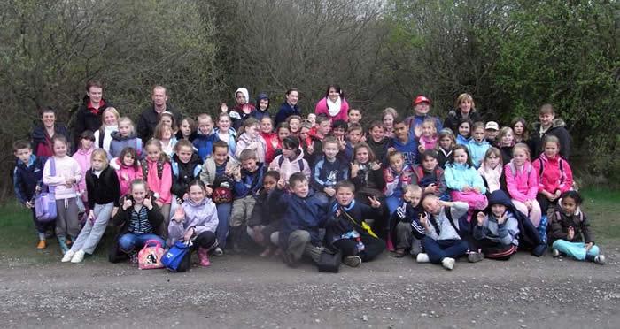 Pupils from Carnagill School