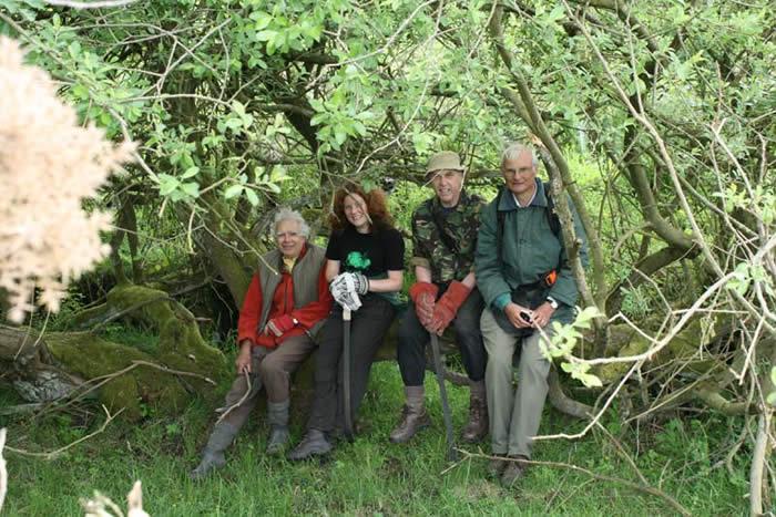 Colin, Susan, Ray and John