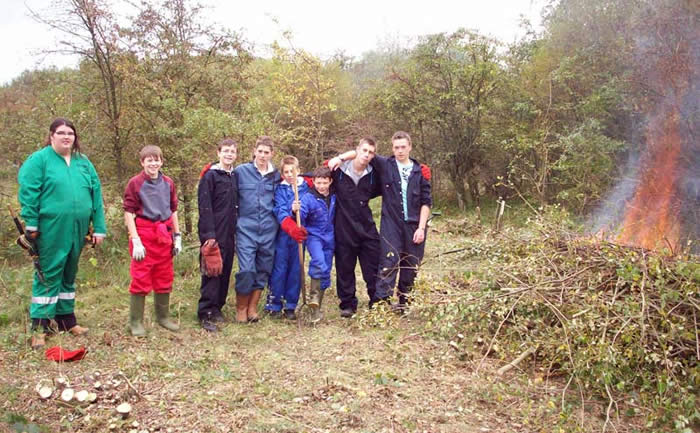 students from Askham Bryan