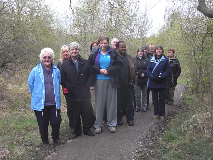 Group from Age Concern Darlington