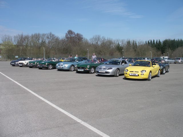 Harrogate MG club