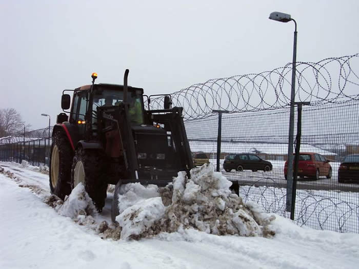 The snowplough