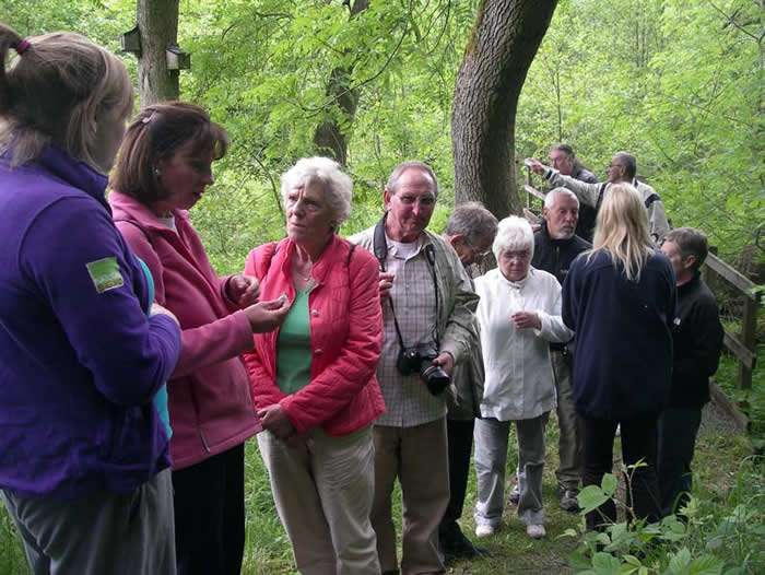Visit from Age Concern, Darlington