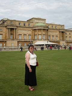 Elizabeth at Buckingham Palace