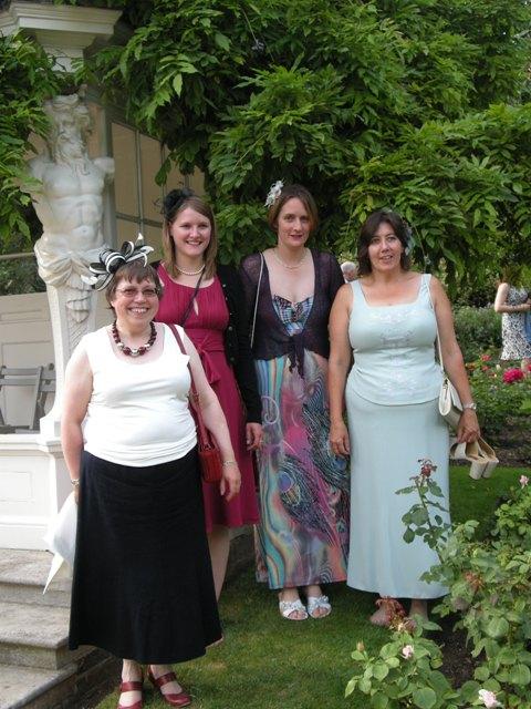 Group photo at Buckingham Palace