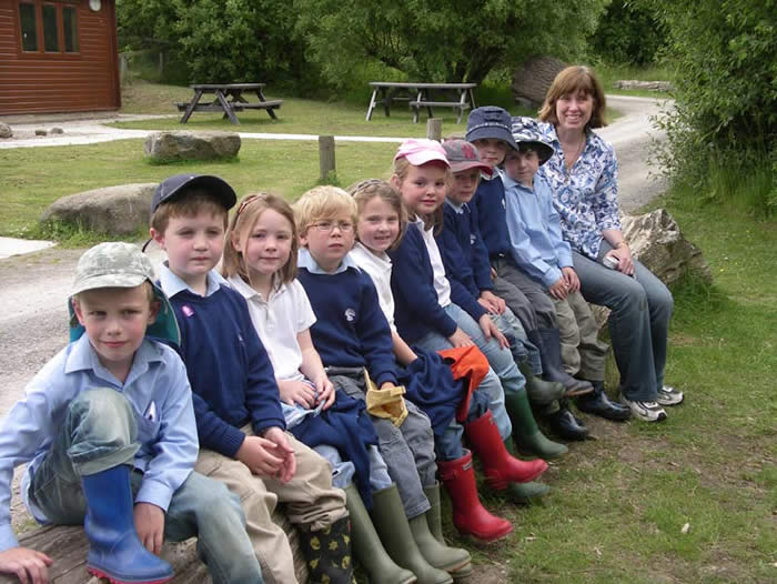 Aysgarth Primary School pupils