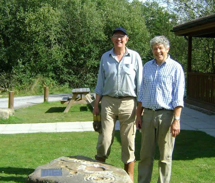 Volunteers Tony & Mike