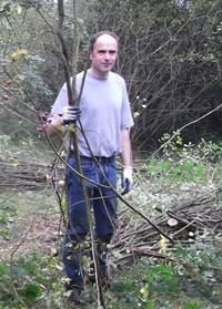 Coppice clearing