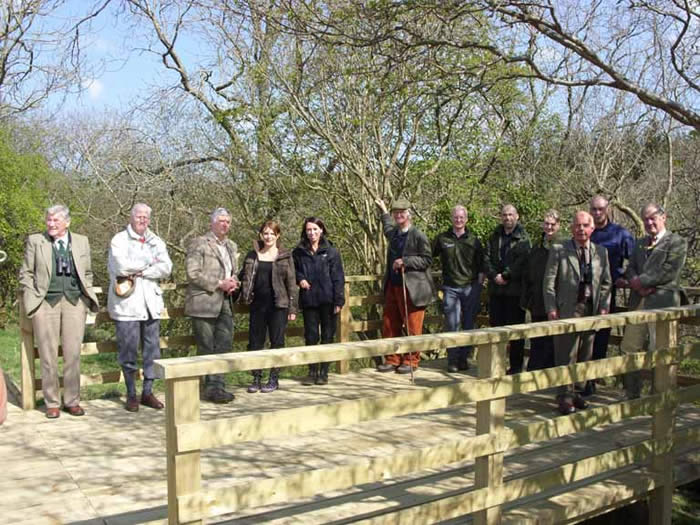 Members of the Catterick Training Area Conservation Group