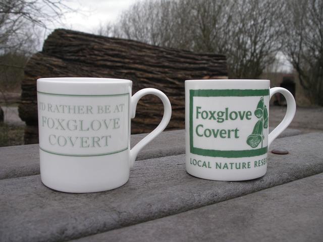 Foxglove mugs