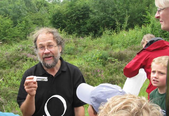 Entomologist Dr Roger
