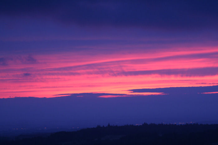 Dawn from Barden Moor