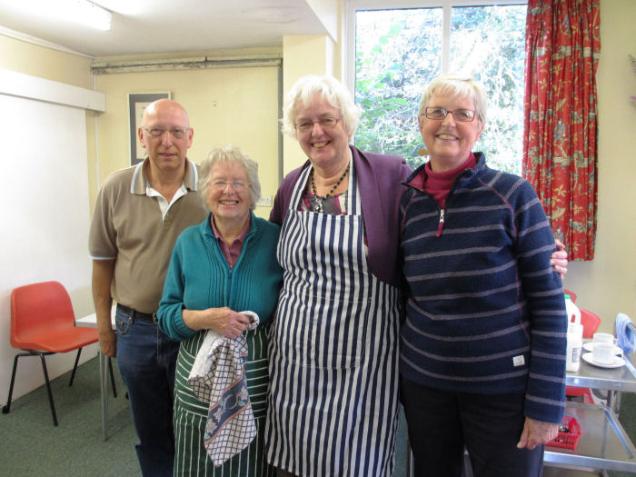 Coffee Morning volunteers