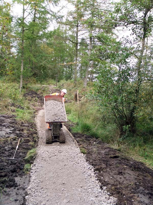 the moorland path