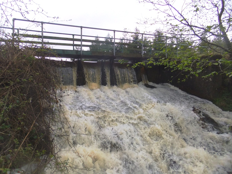 Washing over the Weir