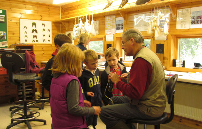 Eco Club in the ringing room