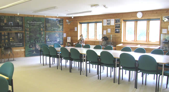 Classroom inside the Field Centre